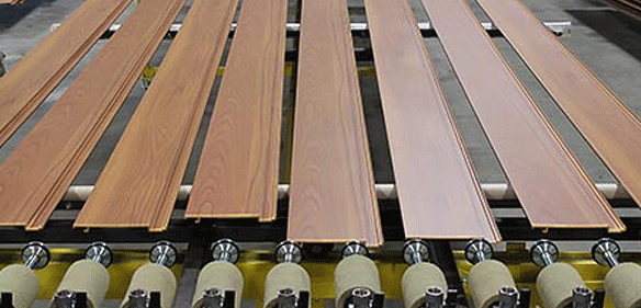 Aluminum Wood Grain Finish